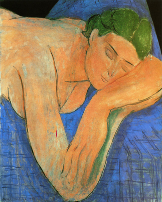 The Dreamer by Matisse